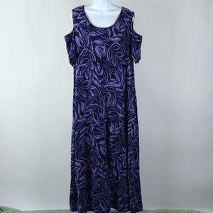 Catherines maxi shift dress